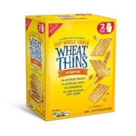 Wheat Thins Original Whole Grain Wheat Crackers (40 oz.)