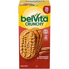 belVita Cinnamon Brown Sugar Breakfast Biscuits (4 per pk., 25 pks.)
