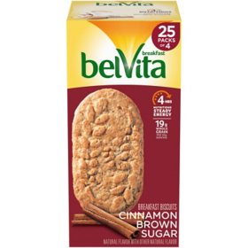belVita Cinnamon Brown Sugar Breakfast Biscuits (25 pk.)