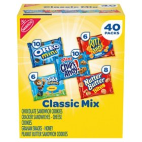Nabisco Classic Mix Variety Pack (40 pk.)