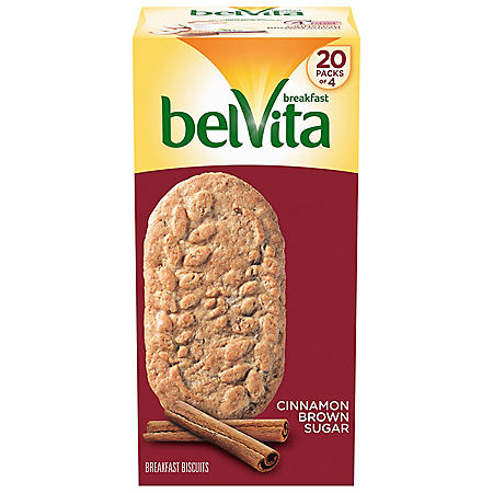 belVita Cinnamon Brown Sugar Breakfast Biscuits (20 pk.)