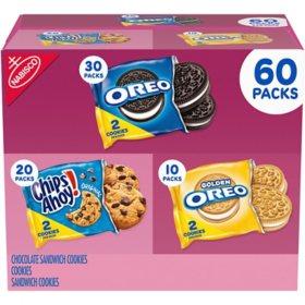 Nabisco Cookie Variety Pack (60pk)