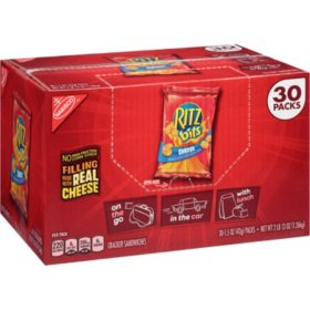 RITZ Bits Cheese Sandwich Crackers (1.5 oz., 30 pk.)