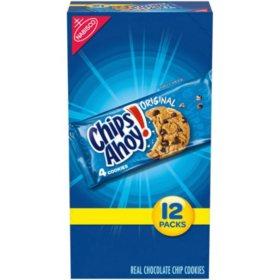 Nabisco Chips Ahoy! Cookies (1.55oz / 12pk)