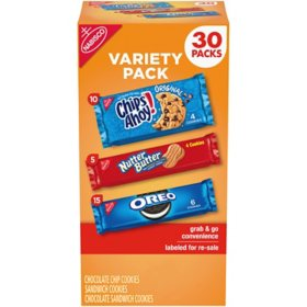 Nabisco Cookie Variety Packs (30 pk.)