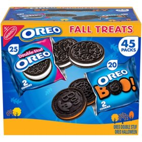 Oreo Chocolate Sandwich Cookies, Fall Assortment (2 lbs., 45 ct.)