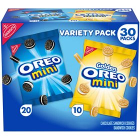 OREO Mini Chocolate Sandwich Cookies Snack Packs (1.5oz / 30pk)