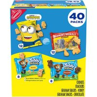 Teddy Grahams, Barnum's Animal Crackers and Minions Cookies Variety Pack (40 pk.)