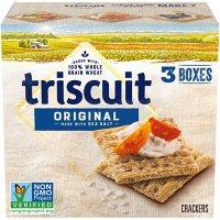 Triscuit Original Whole Grain Wheat Crackers (3 pk.)