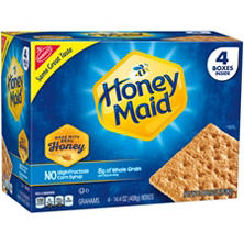 Nabisco Honey Maid Honey Graham Crackers (14.4 oz., 4 pk.)
