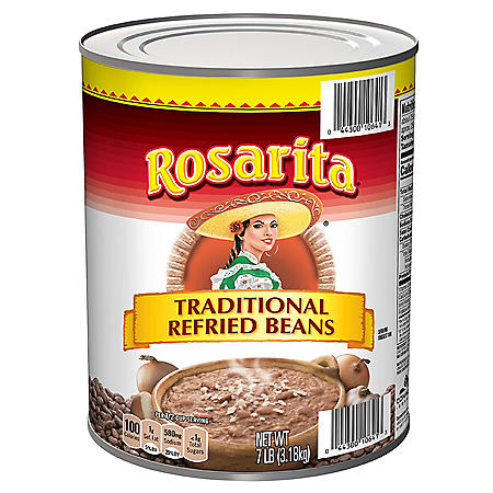 Rosarita Traditional Refried Beans (7 lbs.)