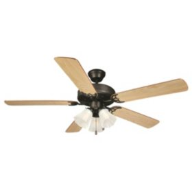 "Design House Millbridge 52"" Indoor Ceiling Fan - Oil Rubbed Bronze"
