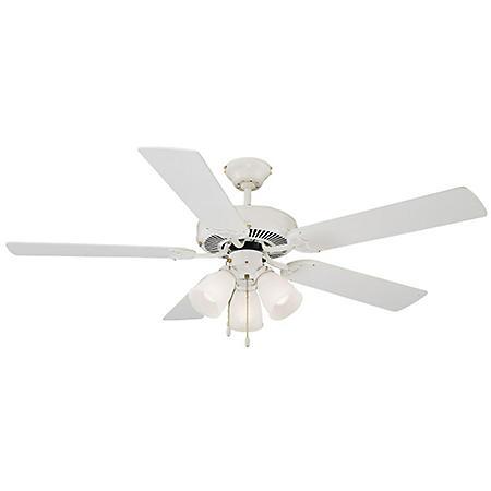 """Design House Millbridge 52"""" Indoor Ceiling Fan - White"""