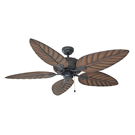 """Martinique by Design House 52"""" Ceiling Fan with 5 Blades - Oil Rubbed Bronze"""