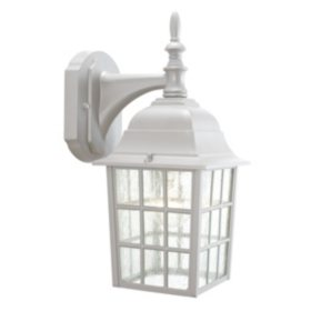 Earl Grey by Design House Sanded Aluminum Outdoor Downlight
