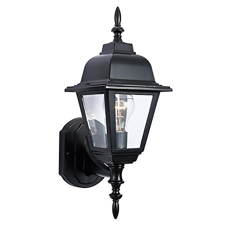 Maple Street by Design House Outdoor Uplight - Black