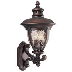 Tolland by Design House Outdoor Uplight - Patina Bronze