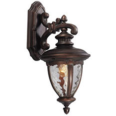 Tolland by Design House Outdoor Downlight - Patina Bronze