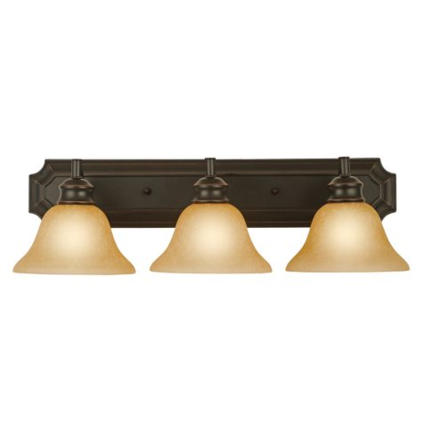 Design House 3-Light Vanity Light Bristol Collection - Oil Rubbed Bronze
