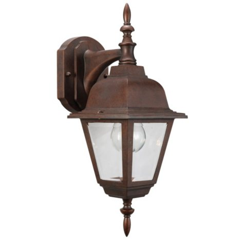 Maple Street by Design House Outdoor Downlight - Washed Copper