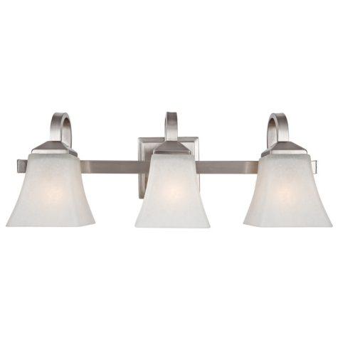 Design House 3-Light Vanity Light Torino Collection - Satin Nickel
