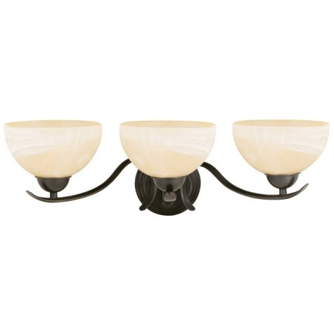 Design House 3-Light Vanity Light Trevie Collection - Oil Rubbed Bronze