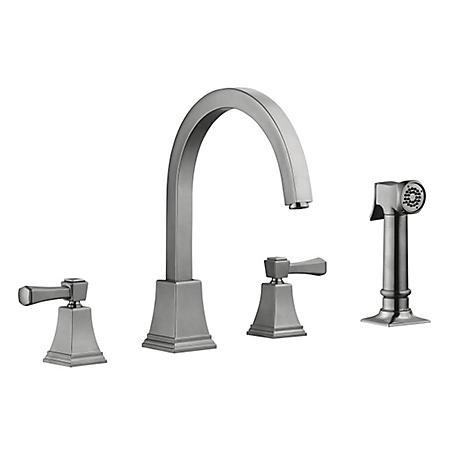 Torino by Design House Kitchen Faucet - Satin Nickel