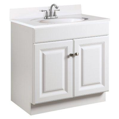 Design House Wyndham White Semi Gloss Vanity Cabinet