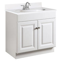 Design House Wyndham White Semi-Gloss Vanity Cabinet
