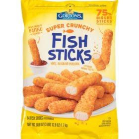 Gorton's Super Crunchy Fish Sticks (3.8 lbs.)