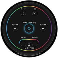 808 Hex Light Bluetooth Wireless Speaker