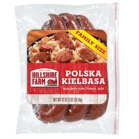 Hillshire Farm Polska Kielbasa Smoked Sausage Rope, Family Size (42 oz.)