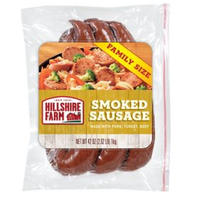 Hillshire Farm Smoked Sausage Rope, Family Size (42 oz.)