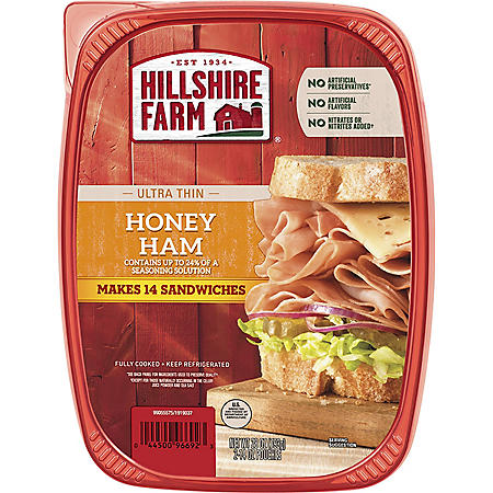 Hillshire Ultra-Thin Honey Ham (28 oz.)