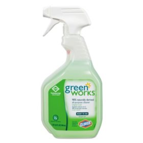 Green Works All-Purpose Cleaner Spray (12 pk., 32 oz. Bottles)