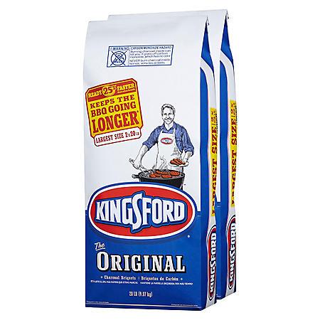 Kingsford Charcoal 2/20 Lb Bags