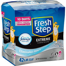 Fresh Step Extreme Scoopable Cat Litter, Scented (42 lbs.)