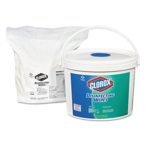 Clorox Disinfecting Wipes Refills, Fresh Scent (700 wipes)