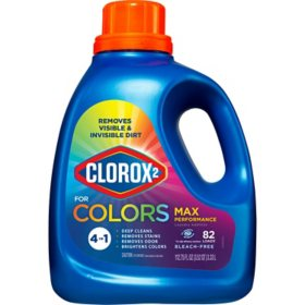 Clorox 2 MaxPerformance, Laundry Stain Remover & Color Booster, 112.75 Ounces