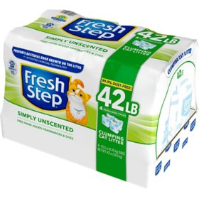 Fresh Step Ultra Unscented Litter, Clumping Cat Litter (42 lbs.)