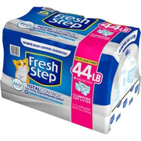 Fresh Step Total Control Scented Litter with Power of Febreze, Clumping Cat Litter (44 lbs.)