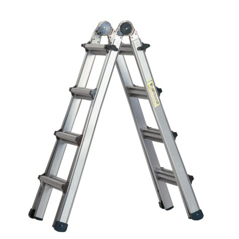 Cosco Multi-Function Ladder - 17-foot
