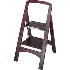 Cosco 2-Step Rockford Mahogany Step Stool