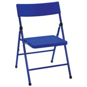 Safety First by COSCO Children's Pinch-Free Folding Chair, Assorted Colors, (4-pack)