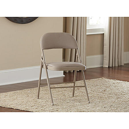 Cosco Fabric Folding Chair, Assorted Colors (4-pack)