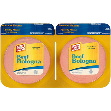 Oscar Mayer Beef Bologna (16 oz., 2 ct.)
