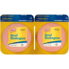 Oscar Mayer Cold Cuts Beef Bologna (16 oz. packs, 2 ct.)