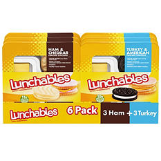 Oscar Mayer Lunchables Variety Pack (6 ct.)