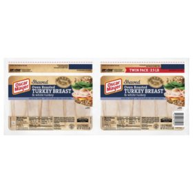 Oscar Mayer Oven Roasted Turkey Breast and White Meat (40 oz. pouch, 2 pk.)