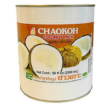 Chaokoh Coconut Milk - 98 oz. can